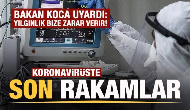 Son dakika: 15 Ekim koronavirüs tablosu açıklandı!