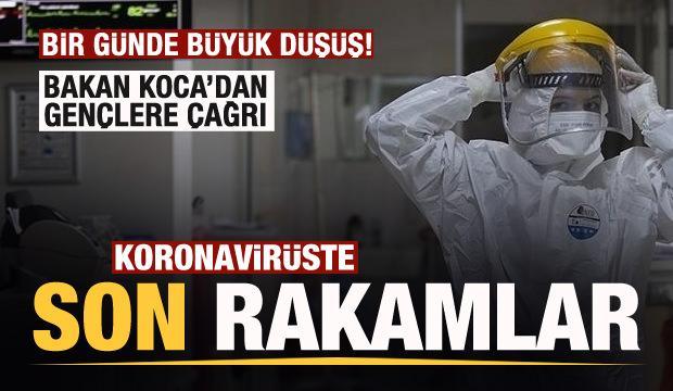 Son dakika: 17 Ekim koronavirüs tablosu açıklandı! Bir günde büyük düşüş!