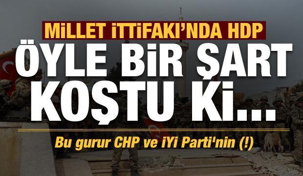 Son dakika: HDP öyle bir şart koştu ki... Bu gurur CHP ve İYİ Parti'nin (!)