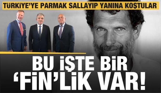 Abdullah Gül, Türkiye'ye meydan okuyanlarla yan yana poz verdi