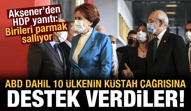 Akşener ve Kılıçdaroğlu'ndan 10 ülkenin Osman Kavala çağrısına destek