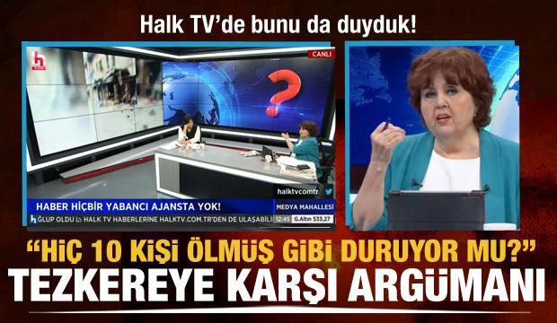 Ayşenur Arslan'a göre tezkere için yalan haber uydurdular: Hiç 10 kişi ölmüş gibi durmuyor