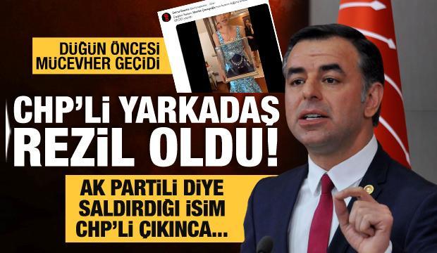Barış Yarkadaş rezil oldu! AK Partili diye hedef aldığı düğün sahibi CHP'li çıkınca....