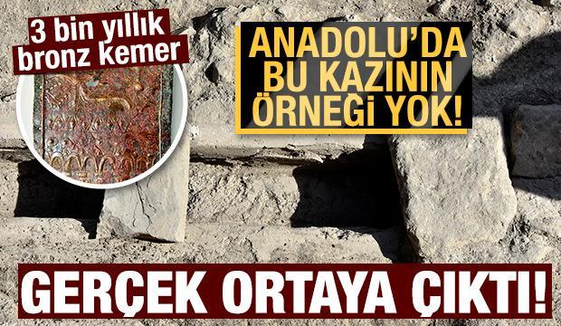 Bu kazının Anadolu'da başka bir örneği yok!