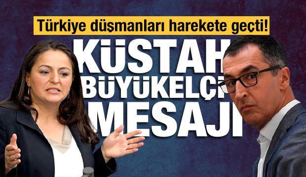 Cem Özdemir ve Sevim Dağdelen'den hadsiz Kavala mesajı: Türk Büyükelçi sınırdışı edilmeli