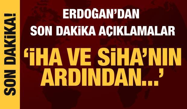 Cumhurbaşkanı Erdoğan açıkladı: Angola İHA ve SİHA'nın ardından şimdi de...
