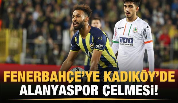 Fenerbahçe'ye Kadıköy'de 90+3 şoku!