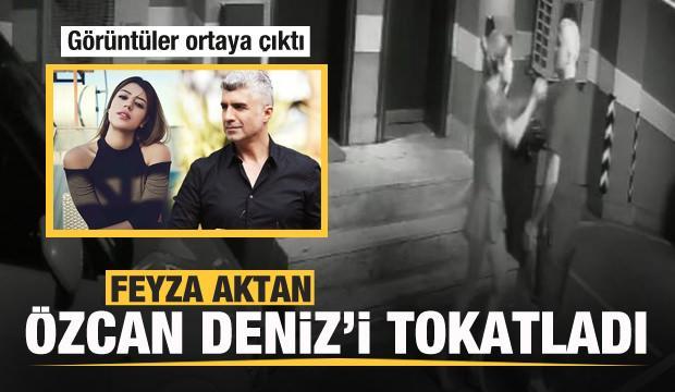 Feyza Aktan, Özcan Deniz'i tokatladı! Kıyafetini parçaladı