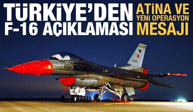 Hulusi Akar'dan son dakika F-16 ve Yunanistan açıklaması!
