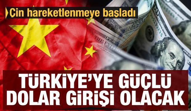 Kriz fırsata döndü! Çin hareketlenmeye başladı: Türkiye'ye güçlü dolar girişi olacak