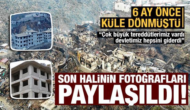 Küle dönen Dereiçi köyü devlet eliyle yeniden doğuyor!