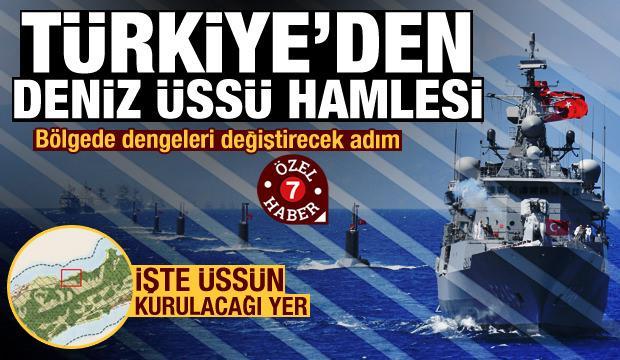 ÖZEL HABER: Türkiye ve KKTC, Kıbrıs'a askeri deniz üssü kuracak
