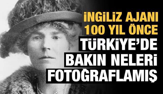 100 yıl önce Türkiye'ye gelip bu fotoğrafları çekmiş!
