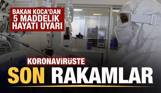 Son dakika: 21 Ekim koronavirüs tablosu açıklandı!