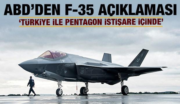 Son dakika: ABD'den Türkiye ve F-35 açıklaması!