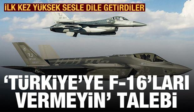 Son dakika! İlk kez ses yükselttiler: 'Türkiye'ye F-16'ları vermeyin' talebi
