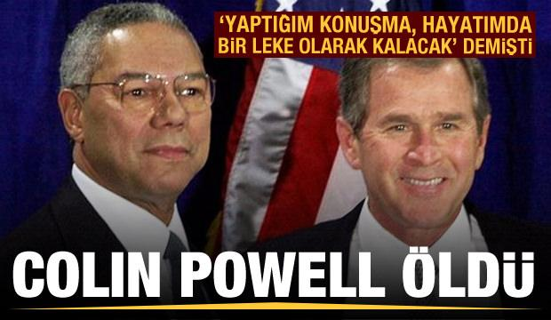Colin Powell hayatını kaybetti