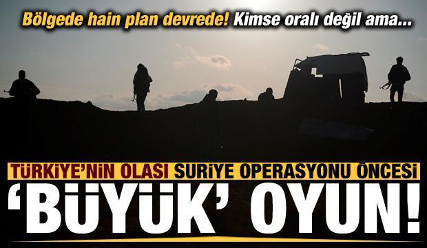 Son dakika: Operasyon öncesi Türkiye'ye karşı hain plan! Kimse oralı değil...