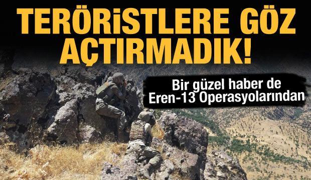 Terör örgütüne art arda darbe! 10 terörist öldürüldü