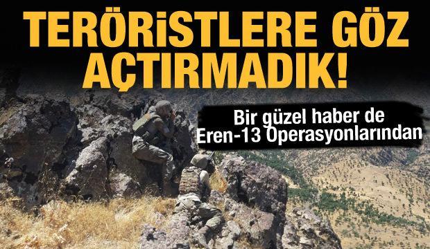 Terör örgütüne art arda darbe! 16 terörist öldürüldü
