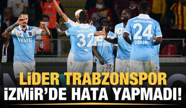 Trabzonspor İzmir'de 3 puanı tek golle aldı!
