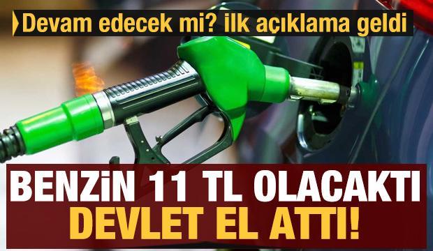 Türkiye'de benzin fiyatı 11 TL olacaktı! Devlet el attı