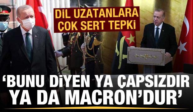 Türkiye'nin Afrika'da ne işi var? 'Bunu diyen ya çapsızdır ya da Macron'dur'