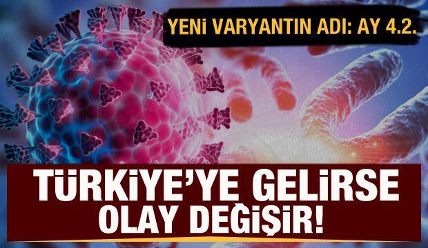 Türkiye'ye gelirse olay değişir!Yeni varyantın adı AY 4.2