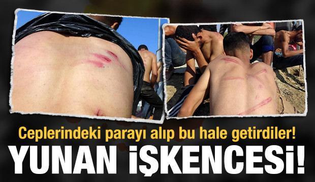 Yunanistan, para ve kıyafetlerini aldığı göçmenleri dövüp, Türkiye'ye itti