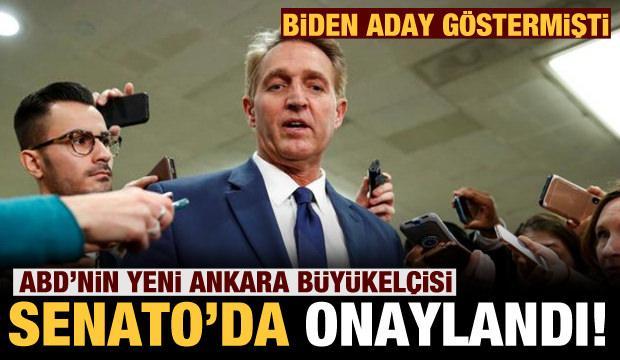 ABD'nin yeni Ankara Büyükelçisi adayı Jeff Flake, Senato'da onaylandı