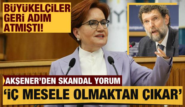 """Akşener'den """"10 büyükelçi"""" açıklaması: İç mesele olmaktan çıkar"""