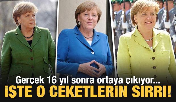 Almanya'nın gündemi 'Merkel'in ceketi'! 16 yıllık görev sonrasında...