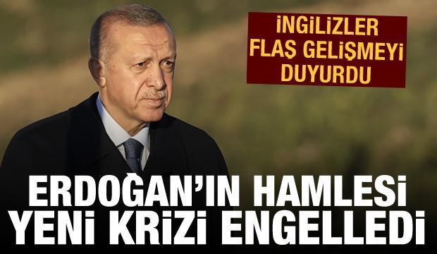 BBC: Erdoğan'ın hamlesi yeni bir krizi engelledi