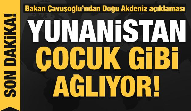 Dışişleri Bakanı Mevlüt Çavuşoğlu'ndan gündeme ilişkin açıklamalar