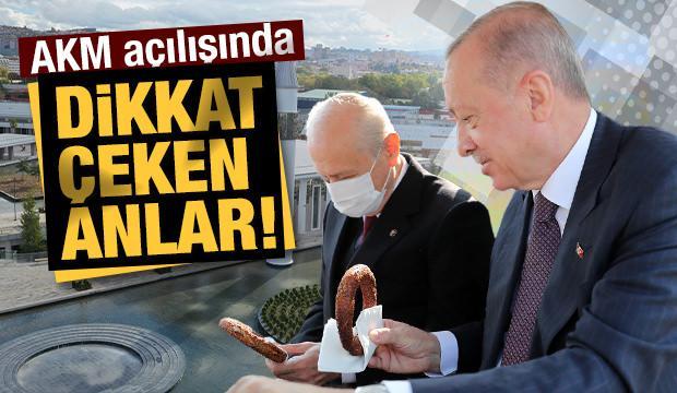 Erdoğan ve Bahçeli, Ankara AKM Millet Bahçesi Açılış Töreni'ne katıldı
