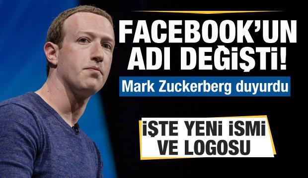 Facebook'un yeni adı ve logosu belli oldu! Mark Zuckerberg duyurdu