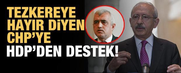 HDP'li Gergerlioğlu'ndan CHP'ye destek!