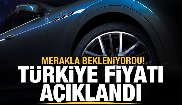 Maserati Levante Hybrid Türkiye'de satışa çıktı! İşte fiyatı ve özellikleri