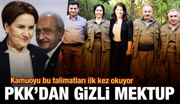 Son Dakika: PKK'dan HDP'ye gizli mektup! Kamuoyu bu talimatları ilk kez okuyor