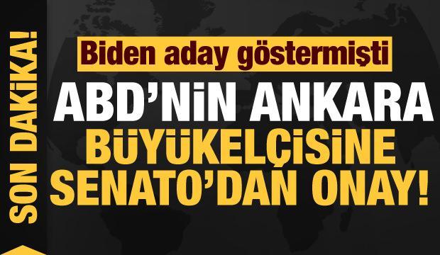 Senato, ABD'nin Ankara Büyükelçiliğine aday gösterilen Jeff Flake'i onayladı