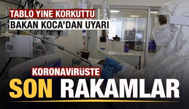 Son dakika: 26 Ekim koronavirüs tablosu açıklandı! Yine korkuttu