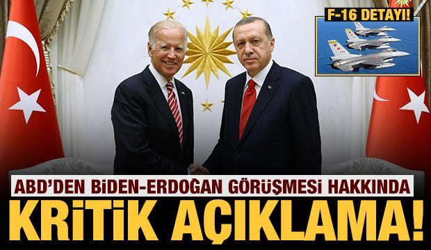 Son dakika: Beyaz Saray kritik görüşmeyi duyurdu! Erdoğan-Biden...