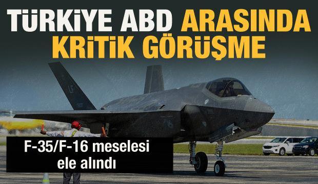 Son Dakika: Türkiye ile ABD arasında kritik görüşme