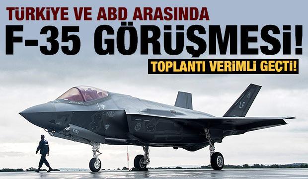 Son dakika: Türkiye ve ABD heyetleri ilk F-35 toplantısını tamamladı!