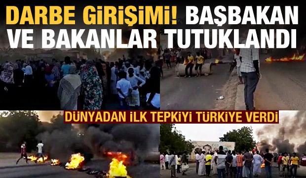 Sudan'da darbe girişimi: Başbakan tutuklandı, OHAL ilan edildi! Türkiye'den açıklama