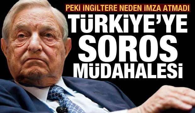 Açık açık söyledi: Türkiye'ye yapılan, bir Soros müdahalesidir