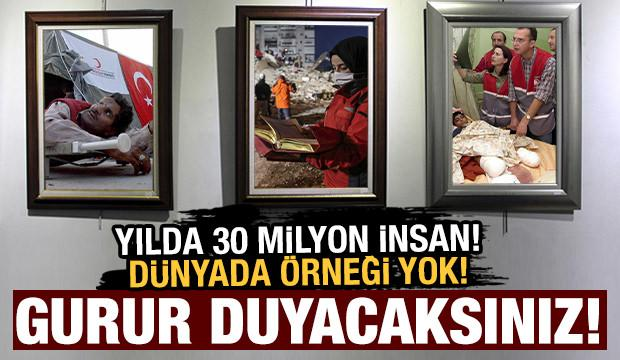 Türk Kızılay yılda yaklaşık 30 milyon ihtiyaç sahibinin yardımına koşuyor