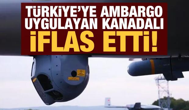 Türkiye'ye ambargo uygulayan Kanadalı Telemus Systems iflas etti