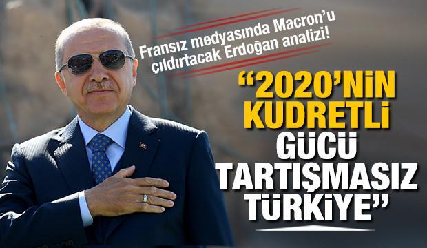 Fransız medyasında çarpıcı yazı: 2020'nin kudretli gücü tartışmasız Türkiye