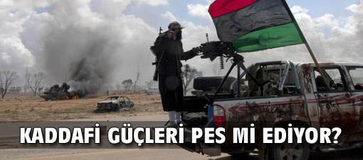 Libya lideri Kaddafi, ateşkes istedi